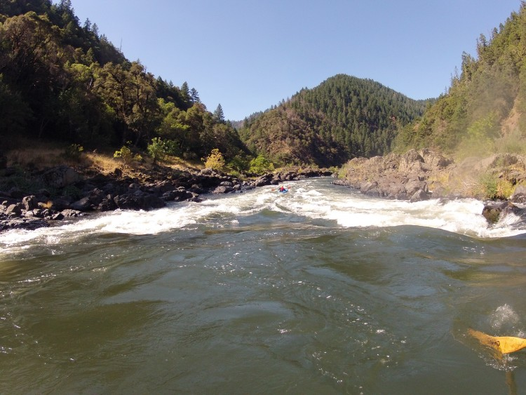 Howard Creek Chutes, Rogue River